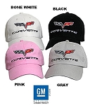 Rick's Custom C6 Corvette Brushed Cotton Hats...Choose Color