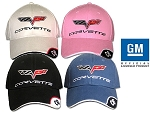 Rick's Custom Premium Brushed Cotton  Corvette C6 Hat, Choose Color