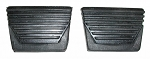 63-67 CORVETTE Clutch & Brake Pedal Pad Set (PAIR)