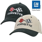 Corvette C3 Cotton Hat. Officially Licensed product