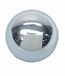 CHROME BALL 9/16-18 SHIFT KNOB FOR CORVETTE & MUNCIE SHIFTERS