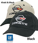 Rick's Custom Premium Brushed Cotton  Corvette C4 Hat