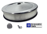Camaro, Corvette, Chevelle, Chevy OPEN ELEMENT AIR CLEANER ASSEMBLY PKG