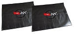 1968 - 1982 Corvette C3 T-Top Storage Bags (Pair) CUSTOM EMBROIDERED LOGO (Choose Logo by Year)