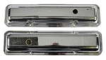68 SS / Z-28 / CORVETTE VALVE COVERS-PAIR CHROME
