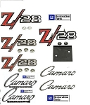 69  Z28 Complete EMBLEMS KIT *Officially Licensed GM Restoration Parts *