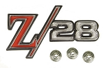 69 Z28 FENDER EMBLEMS ** GM Restoration Parts **