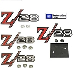 69  Z28 all Z-28 EMBLEMS Pkg *GM Restoration Parts *